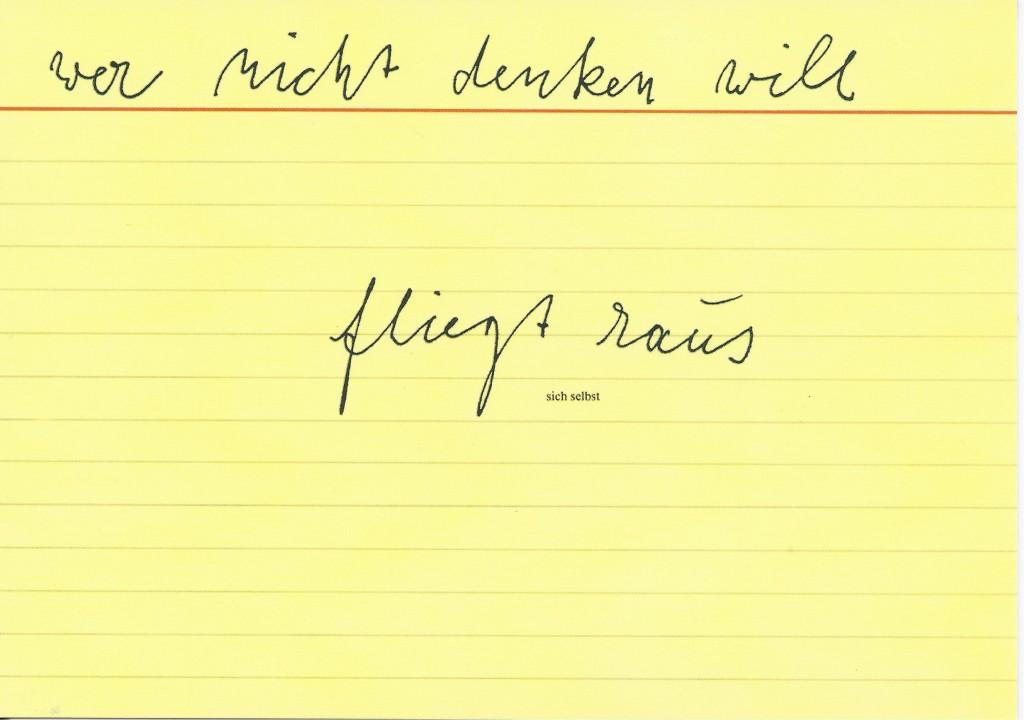 Joseph Beuys 1977