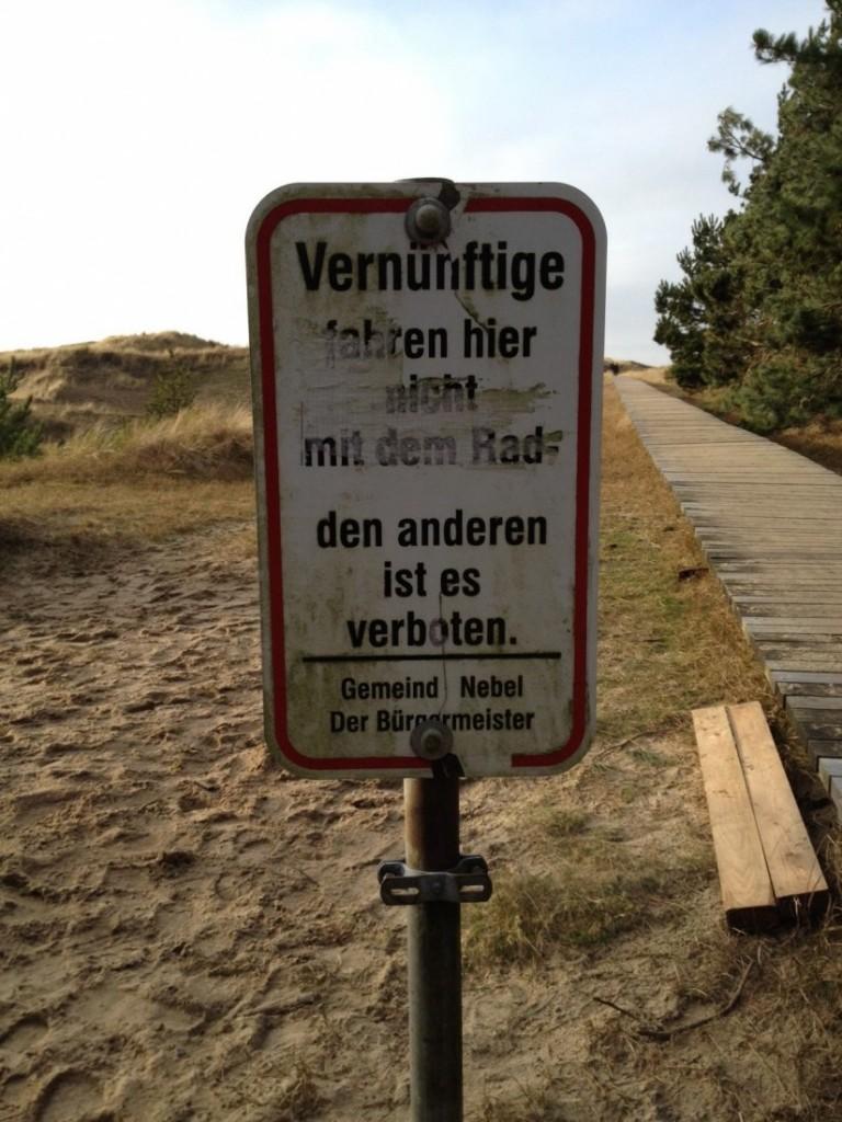 Dünenweg Amrum