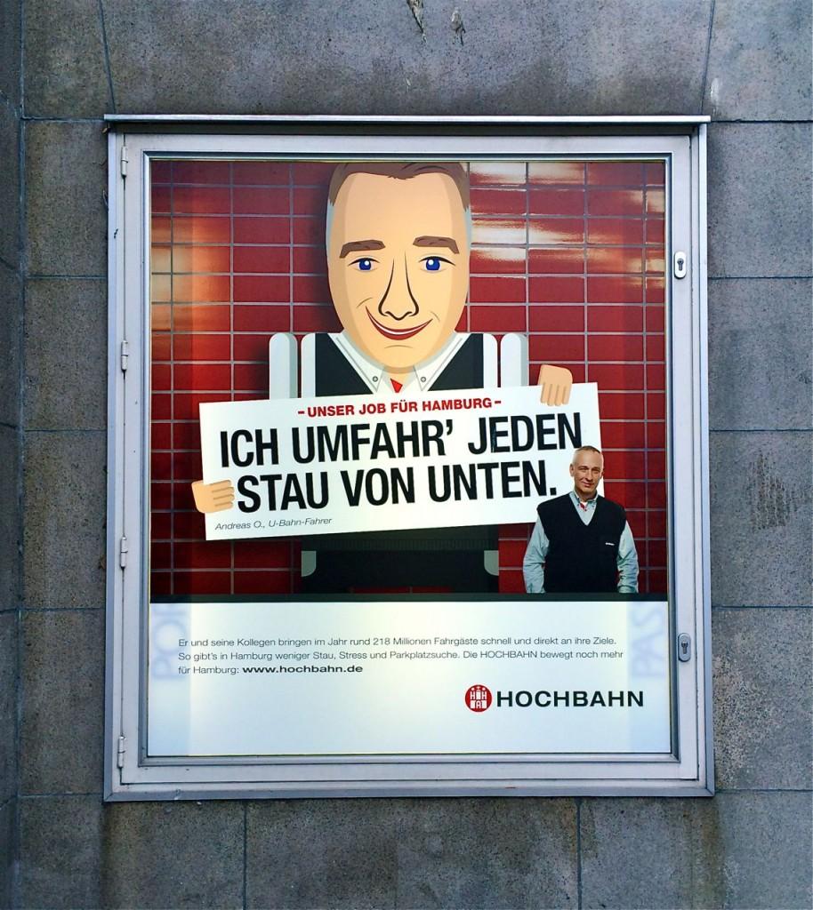 Berufsorientierung: Jede Arbeit hat ihre Höhen und Tiefen. Hamburg wirbt für seine Schnellbahn