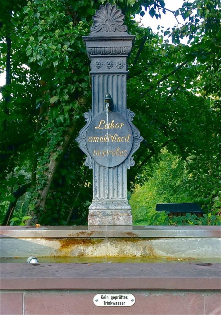 Brunnen im Schloss Heiligenberg, Jugenheim