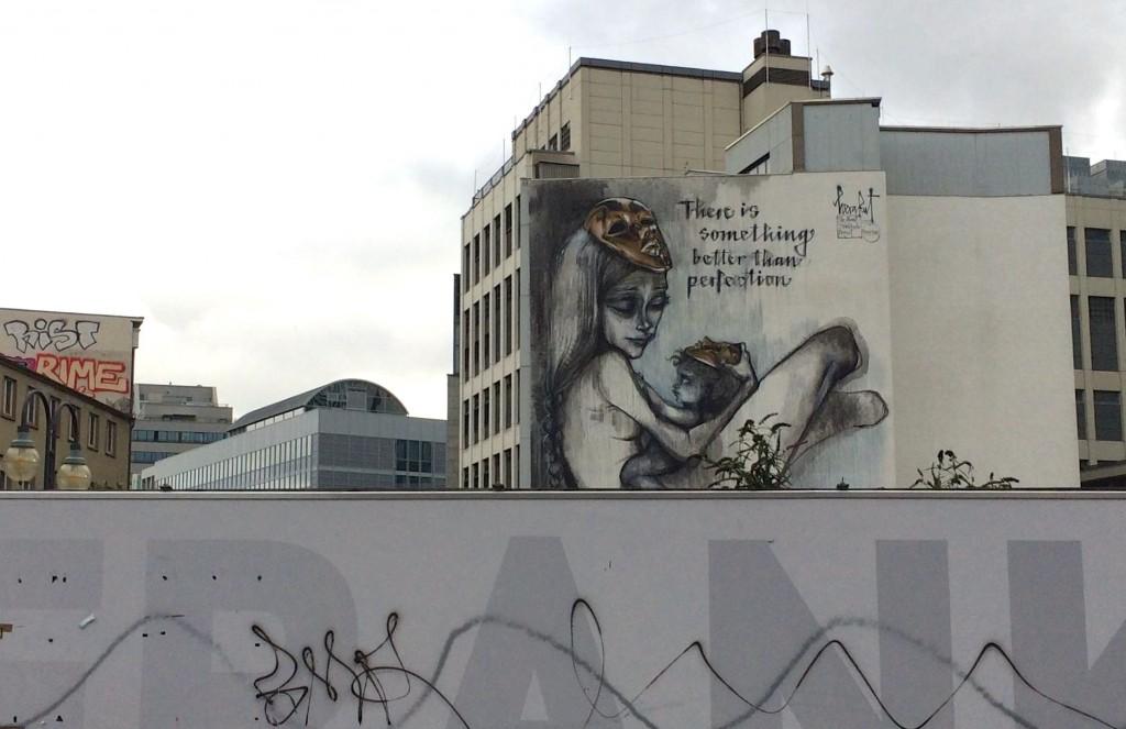 Wandmalereien: das Unzulängliche, hier wird's Ereignis