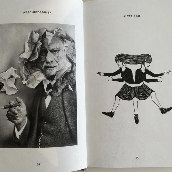 Hans-Georg Pospischil / Jürgen Werner, Sprachbilder. Ein illustriertes Alphabet des Lebens, Verlag tertium datur, Frankfurt 2015, € 21,90